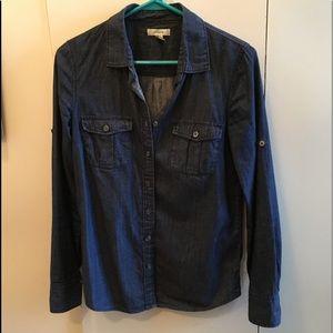 Size 2 J.crew button down shirt